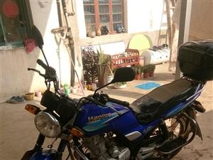 自用豪爵125跨骑摩托车转让