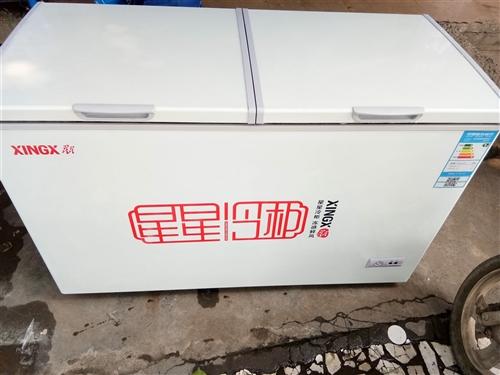 二手冰柜,成色新,有保修卡!