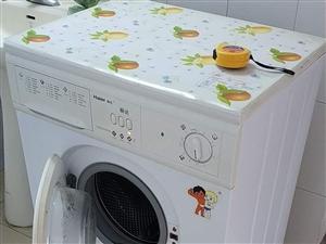 洗衣機 海爾全自動滾筒洗衣機 500元 已經出售。