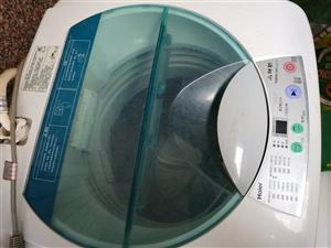海尔小神功,全自动洗衣机,效果非常好,没怎么用,现特价处理