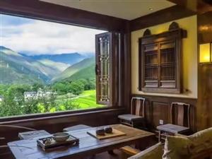 出售观山小院,三面环山太师椅形风水,前面元宝山