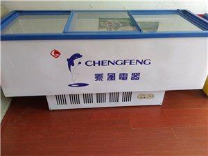 处理三推门冷藏冷冻展示柜,长2宽0.8米。制冷效果很好。有意请联系18263016608