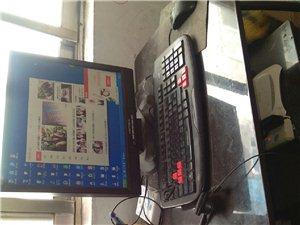 电脑和电脑桌便宜处理,自己家里用的