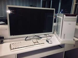 电脑便宜处理.工作室已用四个月高端精品电脑.可打游戏 办公 家用.有问题你直接砸掉.算我的.32寸显...