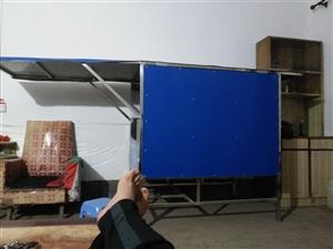 出售电动三轮车的卖饭的蓬蓬,可以卖小吃,纯不锈钢的,面子,两边门子可以大开,里面灶头口留着,架子也是...