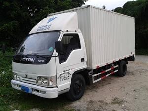求购箱式货车一辆车女证件齐可直接开工