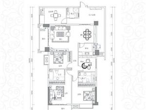 城峰国际3室2厅2卫75万元