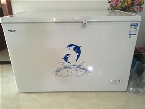 冰柜出卖,自家用、九成新,买一年