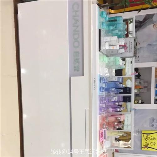 珀莱雅 自然堂前后展柜出售,9.5成新,用了半年,现低价出售,有意者价格可以商量,柜子在新郑,联系电...