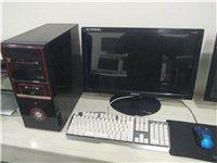 amd4核电脑加24寸显示器1500低价甩卖! amd4核 内存4g 硬盘500g 显卡独立1g显...