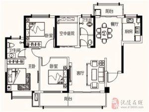 大汉新城3室2厅2卫