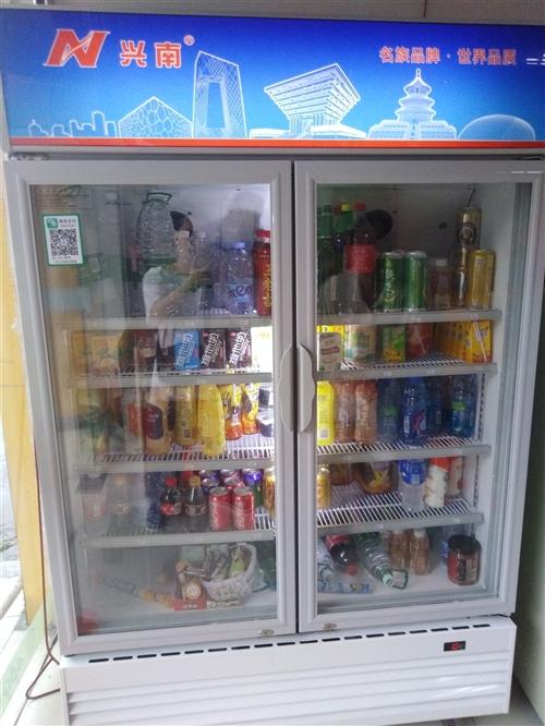 兴南冰柜600升,九成新,风冷