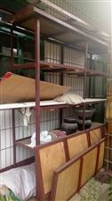 处理货架子,长2米,高两米,宽0.5米,带木板