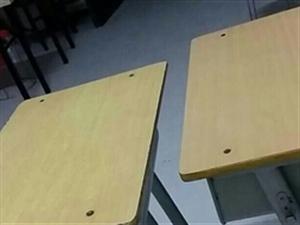 本人有学生课桌若干个,在临泉县城。八成新。有需要的可以联系我。