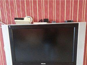 出售两台电视一个40飞利浦的  6.0立体喇叭 500 一个37的安卓系统 无线网的500 两个...