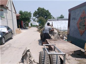 拖拉机带拖排