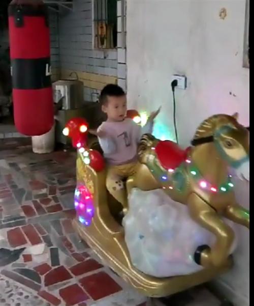 儿童摇摇车一台9成新,600元