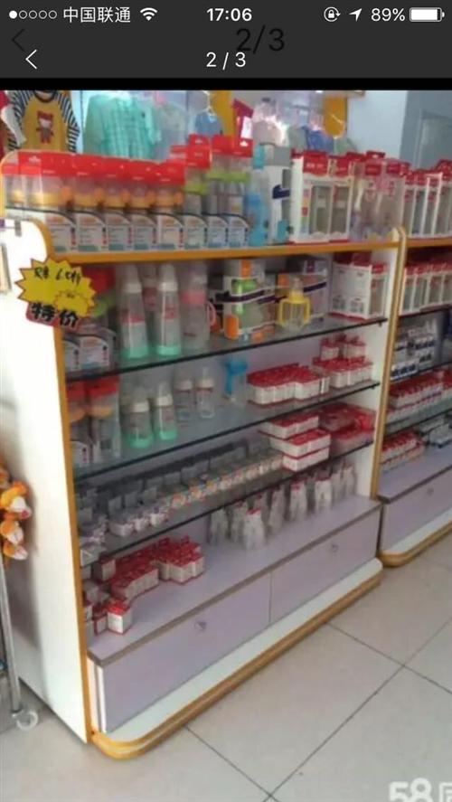 货柜展柜货架子,九成新用了一年多,时尚高档,装饰效果特别好,摆在店里基本不用装修,可卖衣服化妆品,烟...