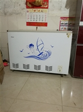 海尔冰柜容量114升9.5成新价格面议!