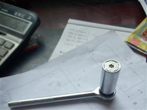 多功用套筒扳手!7-19毫米螺丝随意拧!超适用的五金东西!