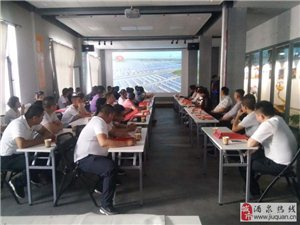 张掖市高台县厨师行业协会来我协会考察交流