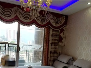 欧式二手窗帘处理,九五成新,客厅一套(带纱),阳台一套,客厅:帘头3.5米,高2.55米,宽3.5米...