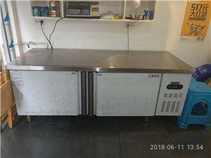 1.8米冰柜  左边冷藏右边冷冻 八成新