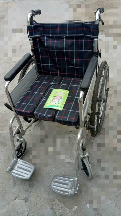 可推着行走的轮椅,9成新,适合住院病人用。