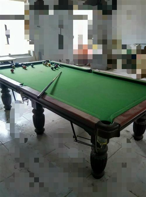 出售台球桌若干,便宜处理