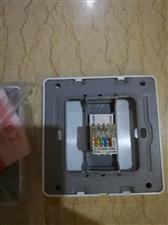 网线插座单口,尺寸:8.5CM,需要的朋友请联系,有300个库存清理,量大从优!