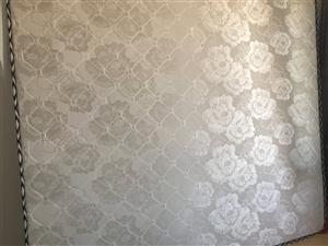 全新床垫,没住过人,180×200双人,200元出售,价格可议