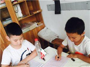 涞水县首家规范汉字书写招生