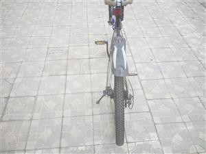 本自行车为狼途,适用于学生,自行车爱好者,买上到现在一个月,没怎么骑过,九五成新,车带都�]怎么磨,原...