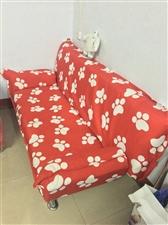 九成新的沙发床,低价处理