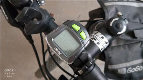 出售山地车一辆    gogobaik的27速   去年七月份买的     配置君斯达无线码表一套 ...