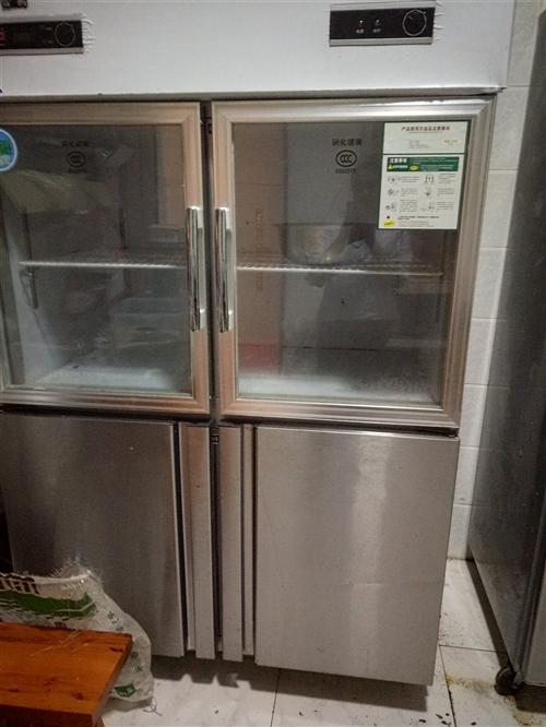 现有餐饮二手冰箱,空调低价出售,空调9.5新,有意者电话联系