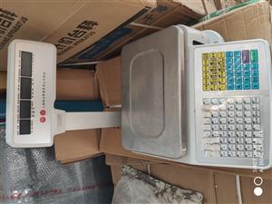 上海精涵条码秤,30kg,超市专用,本人是专业销售收款机条码秤的,这个机子是我客户不用了让我转卖的,...