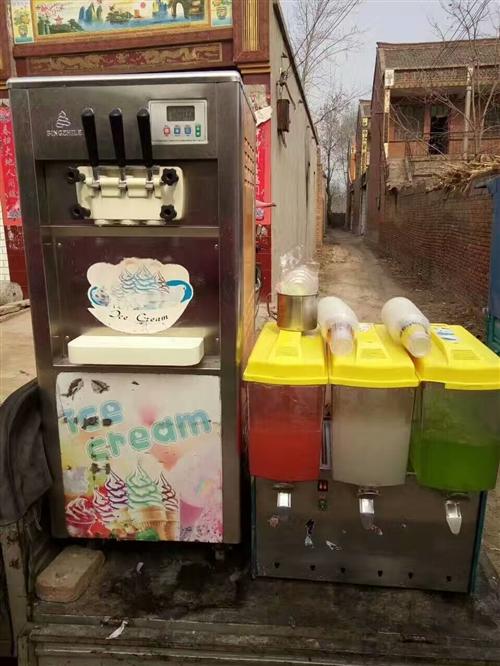 转让: 冰激凌机九成新,价格最低,给钱就卖。 电话18238563200.15136500540...