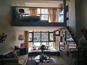 湖滨一号loft 挑高精装复式2室2厅1卫45万元