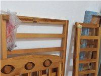 实木婴儿床 100元不议价