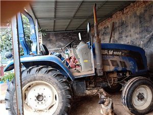 14年地车,带开元还田机,河北农哈哈旋耕机。
