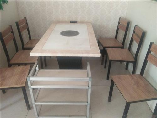 本人有火锅桌9套,9成新,每套6把椅子一张桌子,还有宝宝餐椅。因改行了,想出手,望有意者咨询联系,电...