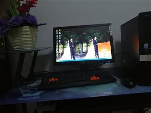 出售台式电脑一台,惠普电脑