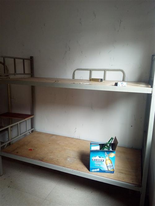 工地工人用的上下鋪鐵架床,8成新