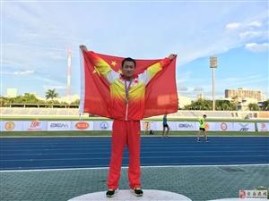 实验中学学生夺得亚洲青奥会冠军