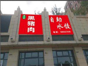黑猪肉自助饺子馆7月18号开业