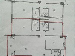 左岸丽川3室2厅2卫带地下车库车位82万元