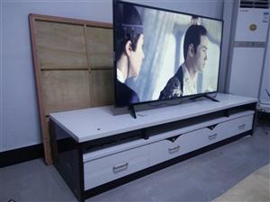因家装,急处理:电视柜(长2.8m×宽0.6m×高2.1m),实木双人床(1.8m×2.0m),加厚...