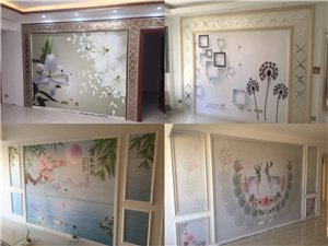 壁纸壁画施工