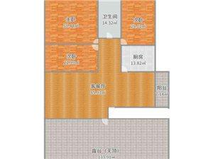 时代广场附近3室2厅1卫40万元